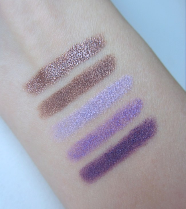 Kiko Long Lasting Stick Eyeshadow Swatches 1
