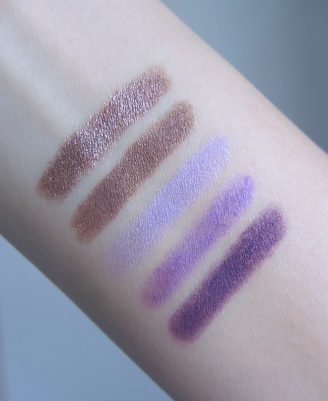 Kiko Long Lasting Stick Eyeshadow Swatches 2