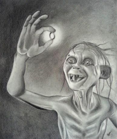 Smeagol Portrait