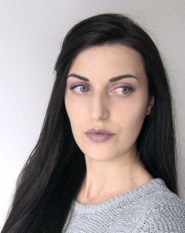 Kiko 524 Taupe Lipstick Look 9