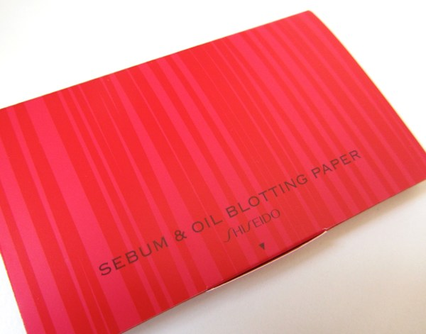 Shiseido Sebum & Oil Blotting Paper