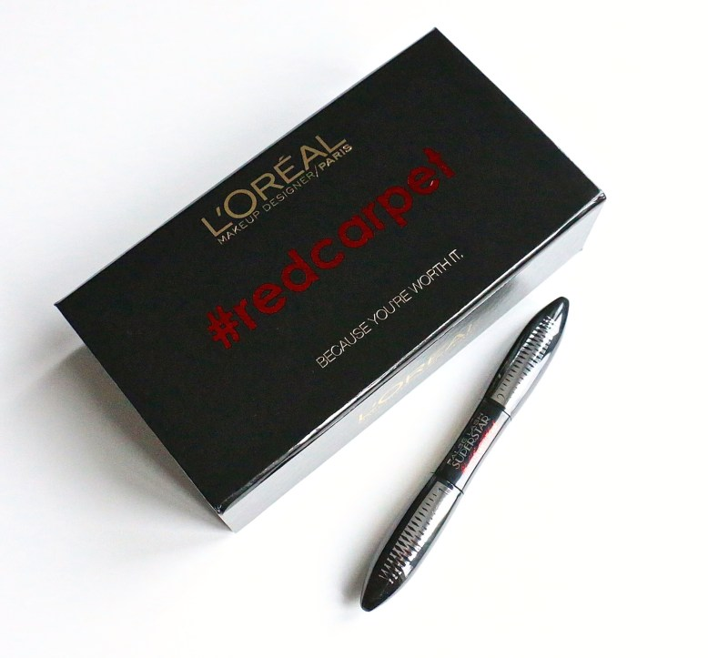 L'oreal False Lash Superstar Red Carpet Black