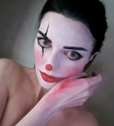 Clown makeup 1