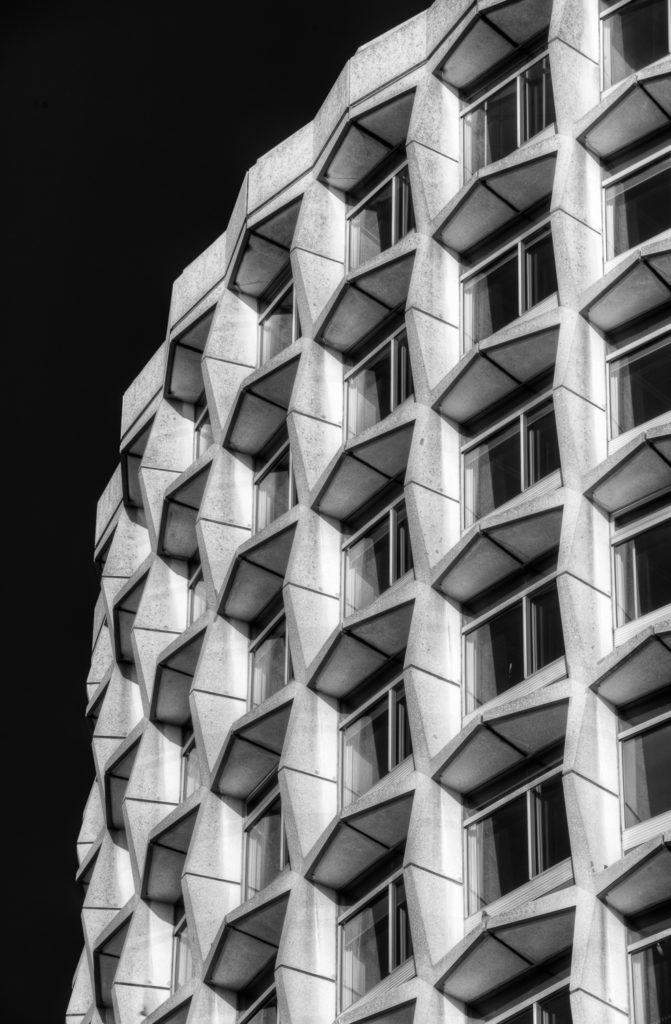 One Kemble Street oblique angle
