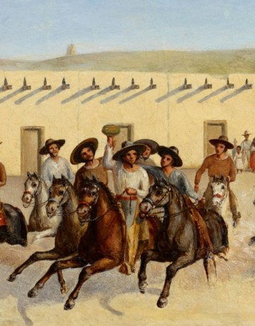 Corria de la Sandia, San Antonio Jean Louis Théodore Gentilz, 1848