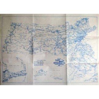 MA Streetcar Map