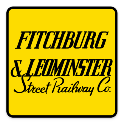 Fitchburg & Leominster Logo Sticker