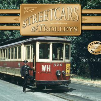 Streetcars & Trolleys 2021 Calendar