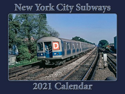 NYC Subway 2021 Calendar