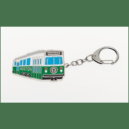 MBTA Green Line Vehicle Keychain