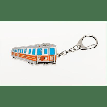 MBTA Orange Line Vehicle Keychain