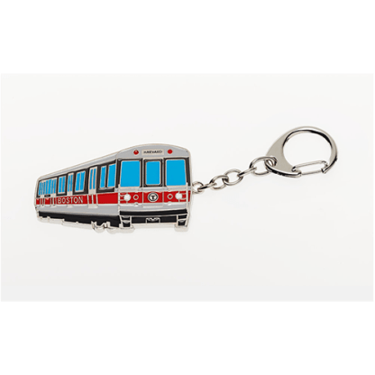 MBTA Red Line Vehicle Keychain