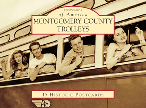 Montgomery County Trolleys Postcard Pack