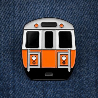 Orange Line Pin