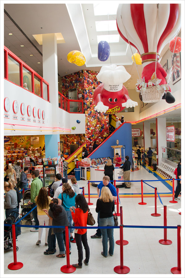 Jelly Belly Factory in Fairfield, California
