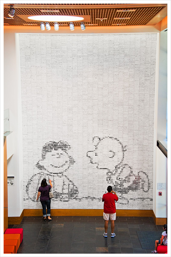 Visiting the Charles M. Schulz Museum and Research Center in Santa Rosa