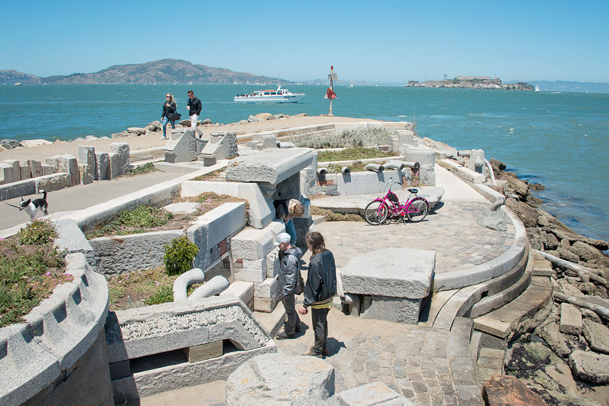 San Francisco The Wave Organ - Exploratorium