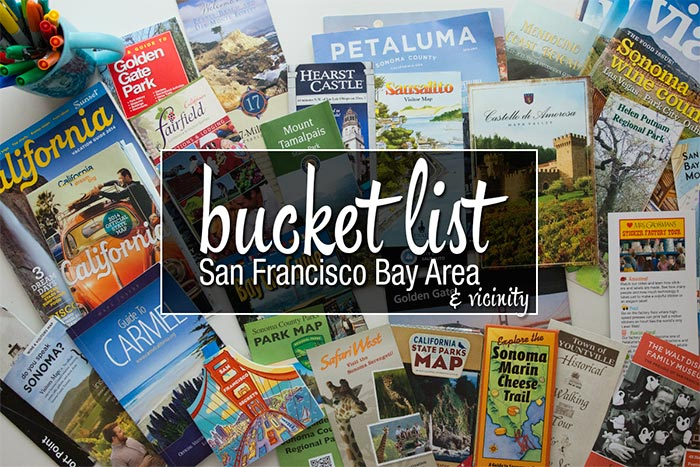 San Francisco Bay Area Bucket List