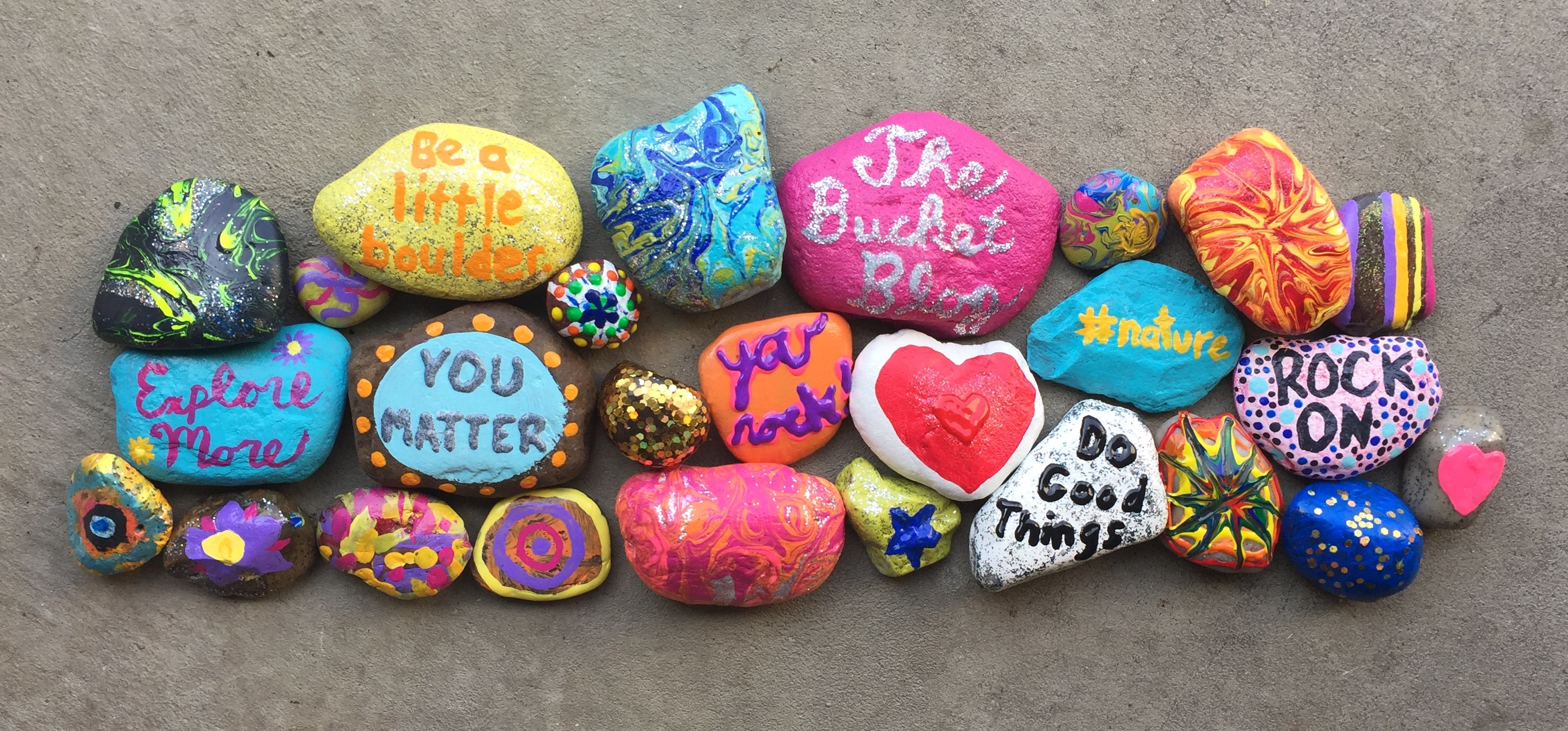 Rock Painting - The Buckit Blog