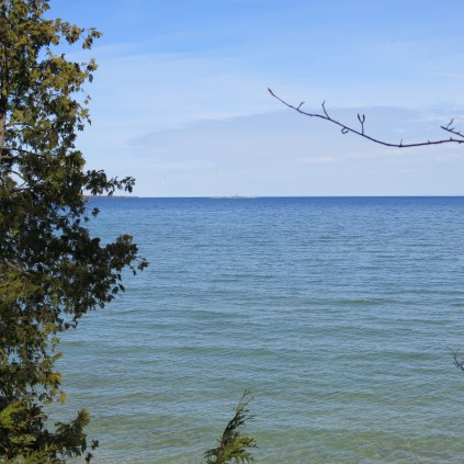 The waters of Door County
