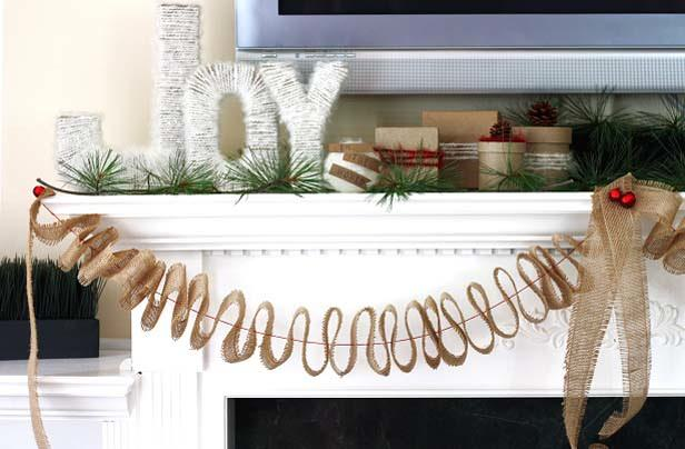 DIY Christmas Mantel Decorating Ideas • The Budget Decorator