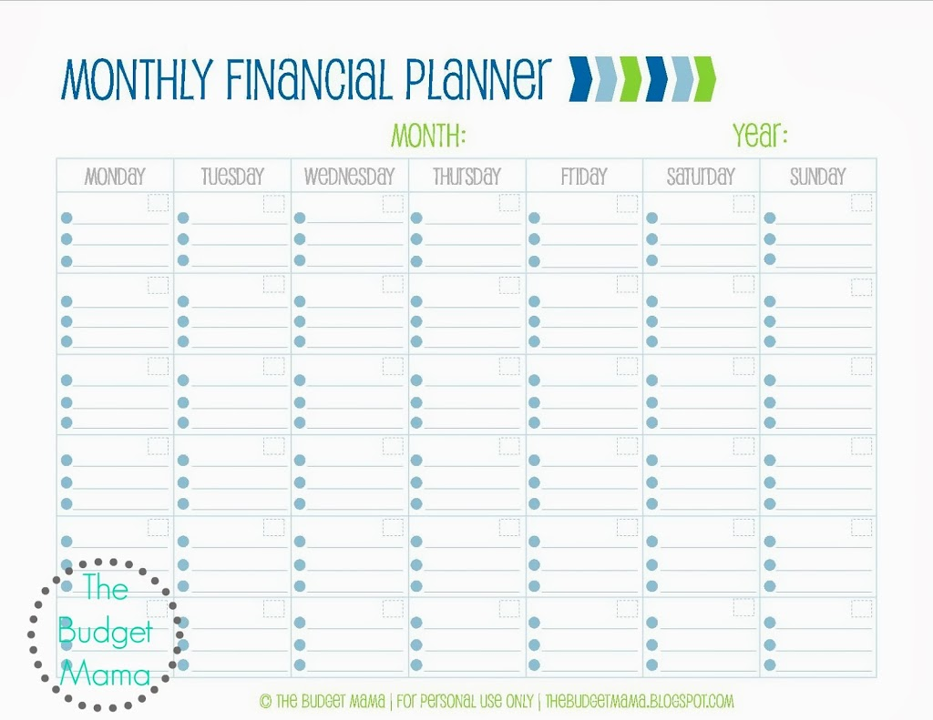 Search Results For Free Monthly Budget Planner Worksheet