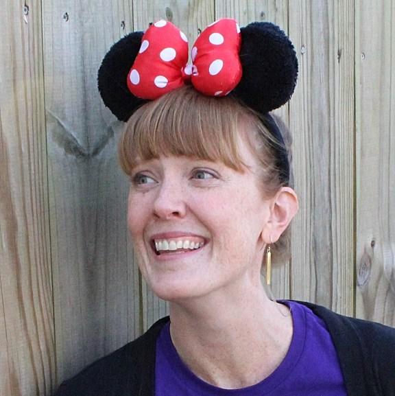 leah althiser head shot with minnie ears