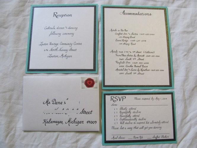 Tiffany Blue Wedding Invitations Ideas