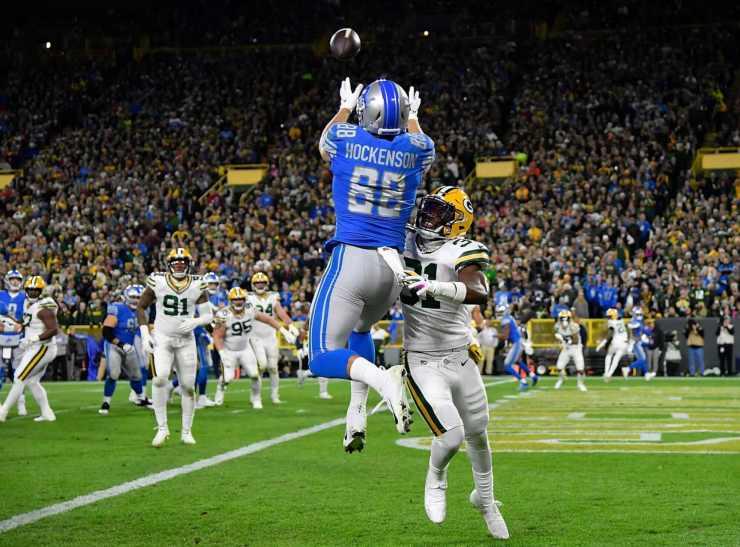 Fantasy Football touchdown tj Hockenson