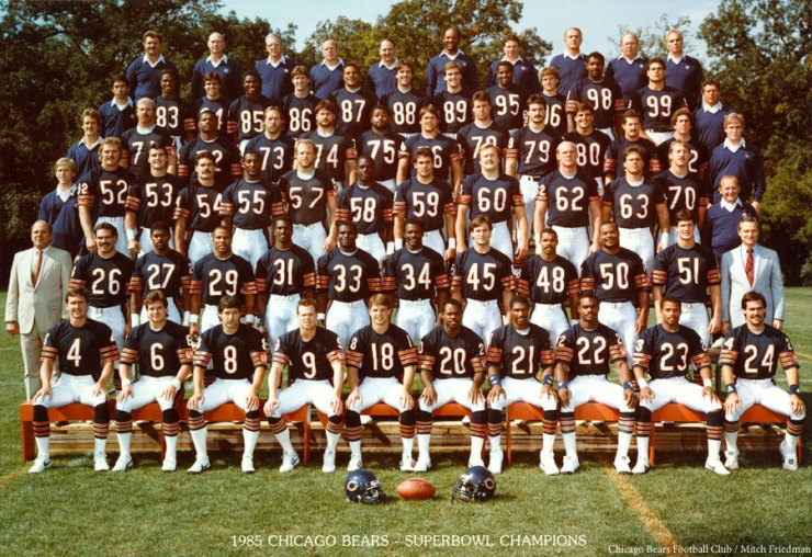 1985 Bears