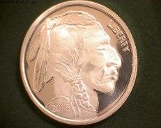 Buffalo 1 ounce Silver Rounds