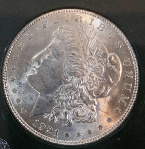 1921 Uncirculated Morgan Silver Dollars $39 Each