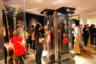 """""""GUITAR: The Instrument That Rocked The World"""" will be on display at the Buffalo Museum of Science until May 7."""