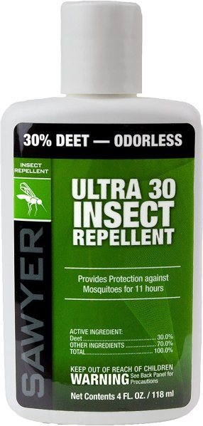 Sawyer Products Ultra 30% DEET Insect Repellent Lotion