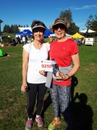 New Kiama residents Sharon Blake and Robyn Dorney completed the 9 km event