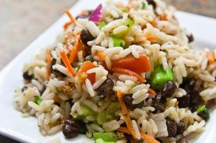 The termites rice and its tiny veggies