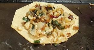 Les délicieux tacos aux escamoles