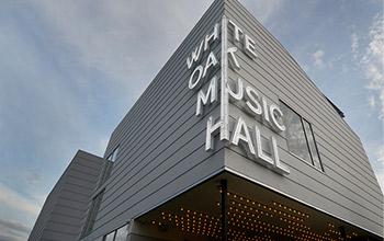 The Build Collective - Client - White Oak Music Hall - Website Design, Development