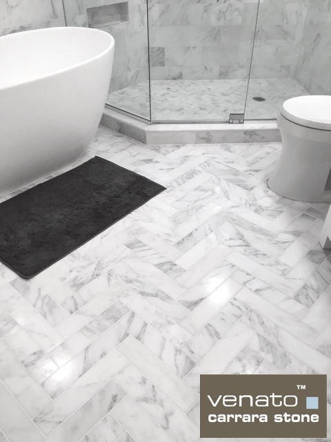 venato carrara 6 12 tile bathroom 8