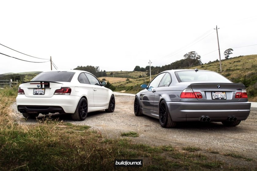 BMW E46 M3 vs. BMW 135i
