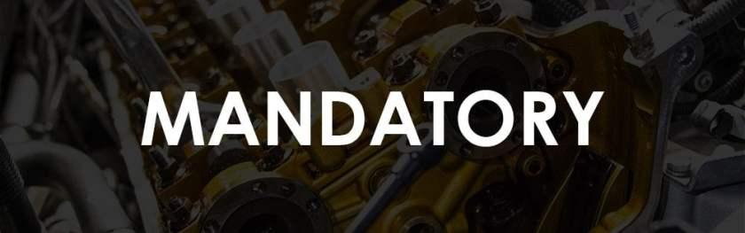 E46 M3 Maintenance - Mandatory