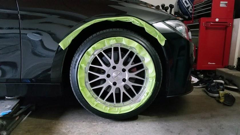 Duplicolor Tire Paint - Permanent Tire Shine