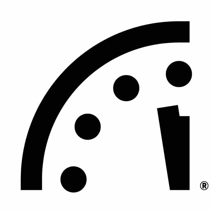 bulletin of atomic scientists 2020 doomsday clock 100 seconds to midnight