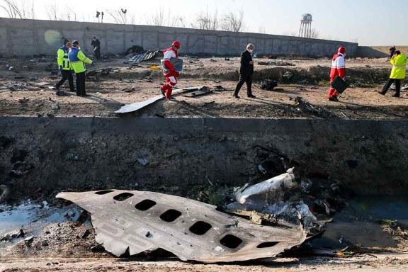 A plane crash.