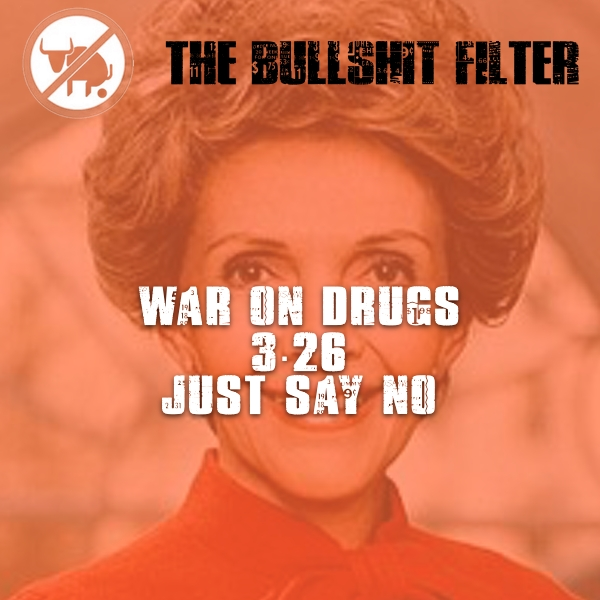 """War On Drugs 3.26 """"Just Say No"""""""