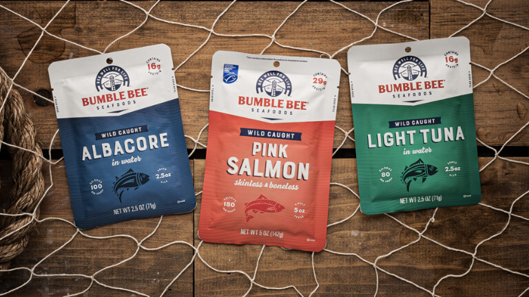 Bumble Bee Seafoods Awarded by NOSH.com for Best New Packaging Re-Design of 2020