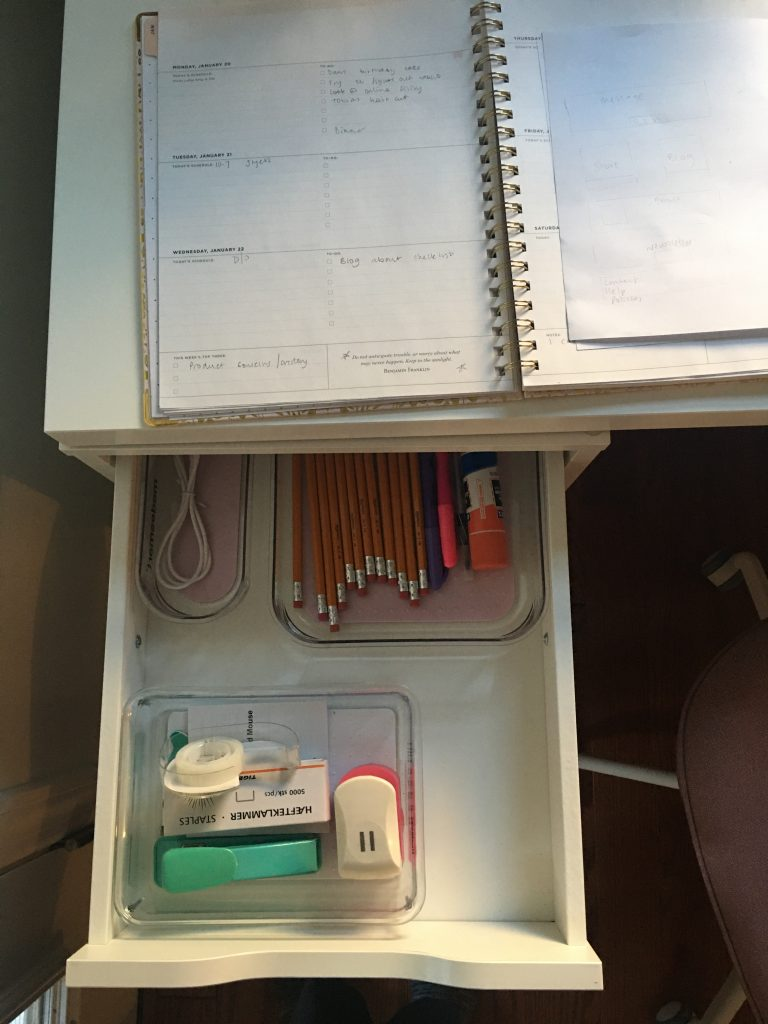 Tidy desk Tidy mind - The To Do list