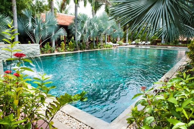 Full Moon Swimming Pool