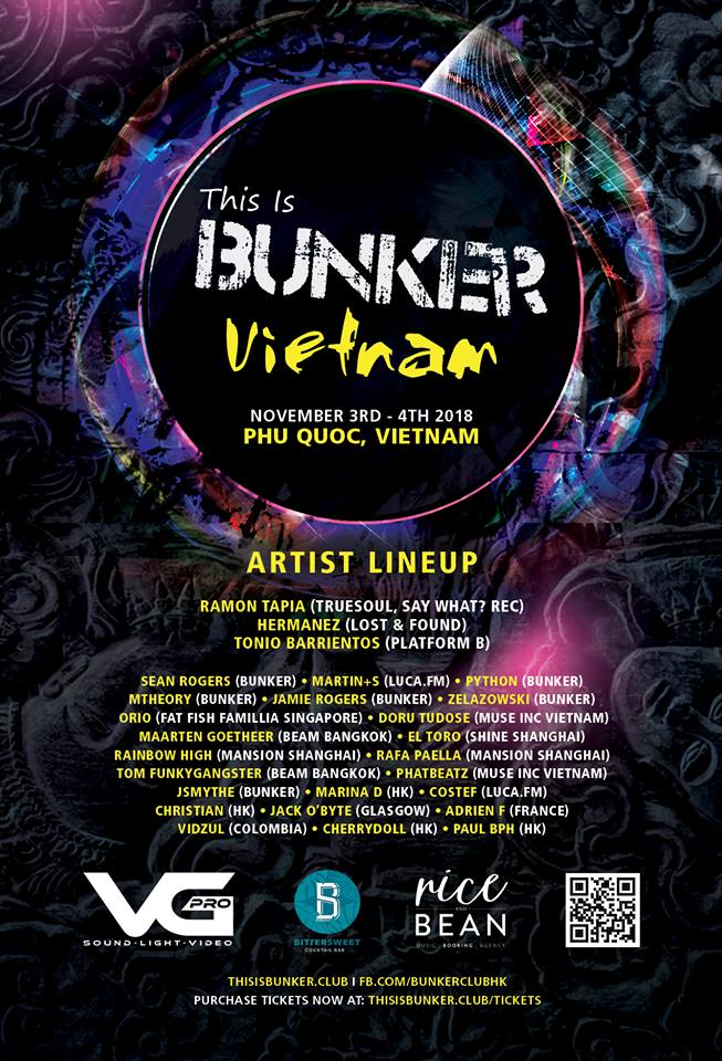 Bunker Vietnam Line Up