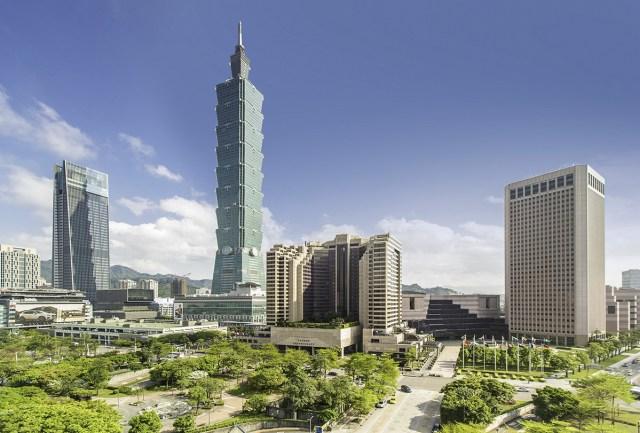 Grand Hyatt Taipei Exterior Day